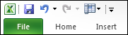 Freeze Panes Icon in Quick Access Toolbar