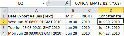How To: CONCATENATE Function or Ampersand Operator in Excel Update