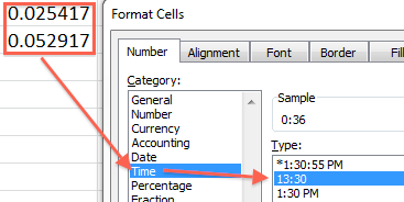 Convert Decimal Hours to Time in Excel | Excel Semi-Pro