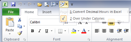 How To Switch Between Workbooks Faster In Excel 2007 And