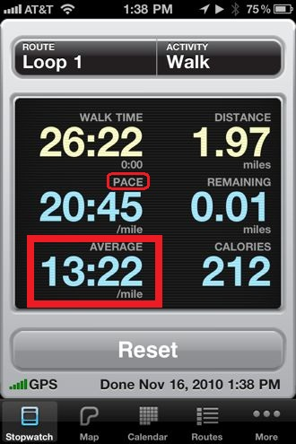 Walkmeter App