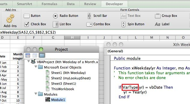 Excel vba trading system