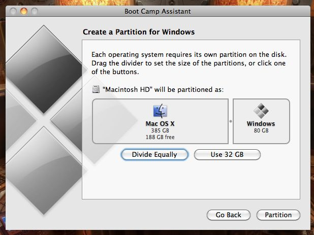 how to make windows 7 install disk mac