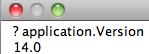 Excel 2011 version