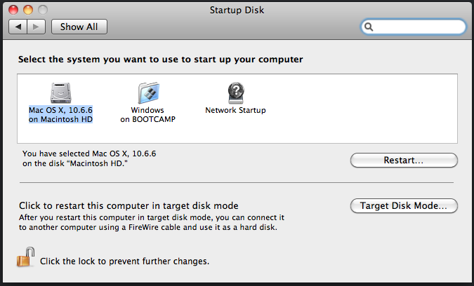 Startup System on the Mac