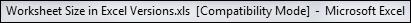 Compatibility Mode