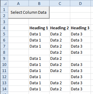 Select Column Data in a List