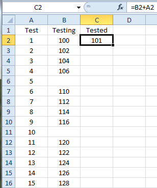 How To: Fill Down a Formula with VBA Update: September 2019