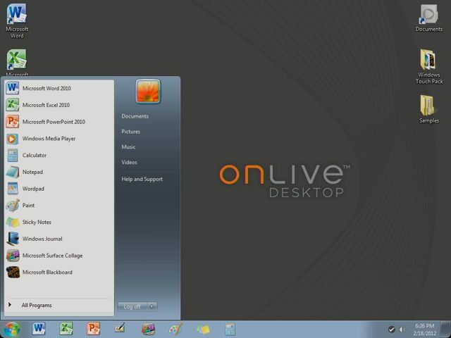 OnLive App 02