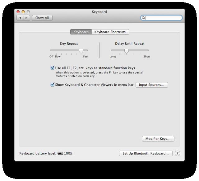 Excel home key on mac