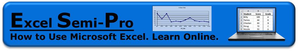 Excel Semi-Pro
