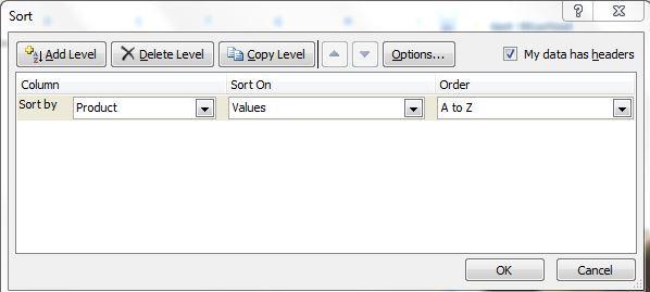 sort how to alphabetize in excel